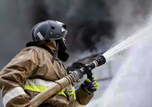 Пожар на складе в Мытищах был ликвидирован