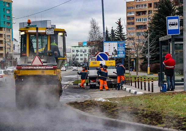 Состояние благоустройства городских дорог было проверено в Мытищах